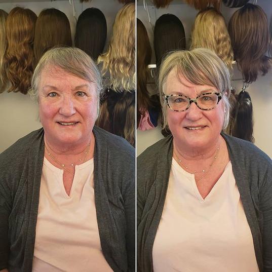 Transformation Tuesday! Marilyn was look