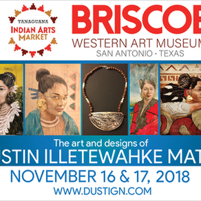 Coming this November 16-17 at the Briscoe western art museum