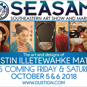 Coming this weekend (SEASAM) Southeastern Art Show and Market