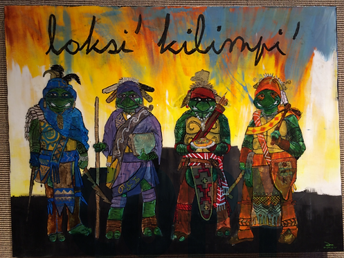 TUSHKA LOKSI' (The Warrior Turtles)