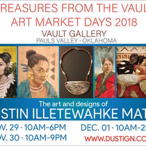 Winter art market this week