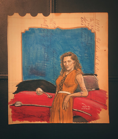 Ledger Doodle: Auntie and her 356