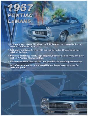 Brian & Michelle 1967 Pontiac Lemans
