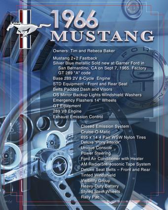 Tim Baker 1966 Mustang