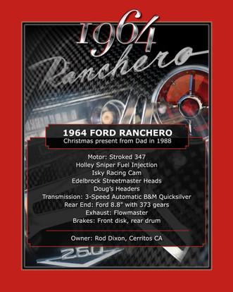 Rod Dixon 1964 Ranchero