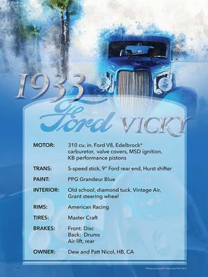 Tom Flynn 1933 Ford Vicky