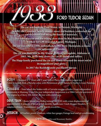 John & Rosemary Rambo 1933 Ford Tudor