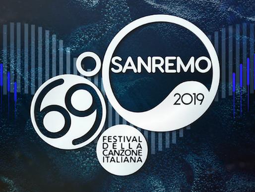 Фестиваль песни в Санремо 2019,  24 участника конкурса