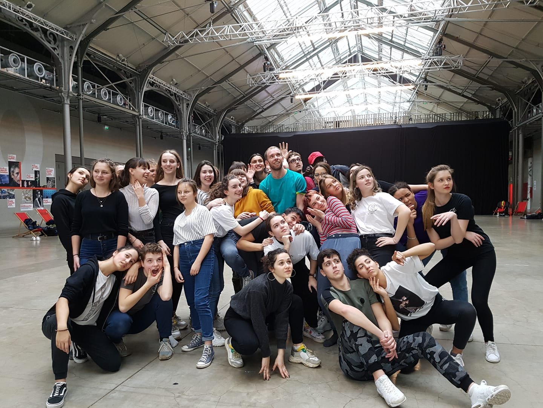 Atelier au 104 à Paris
