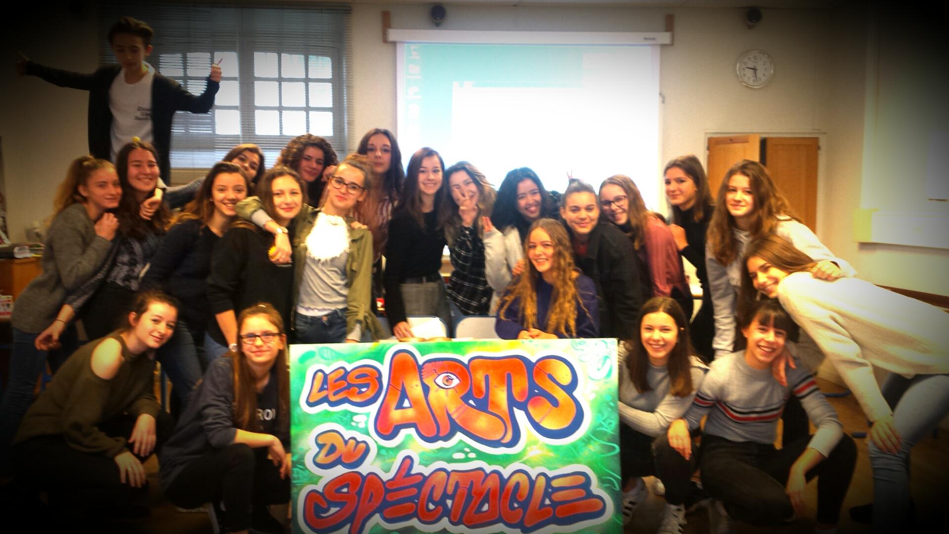 Groupe Arts du Spectacle 2017-2018