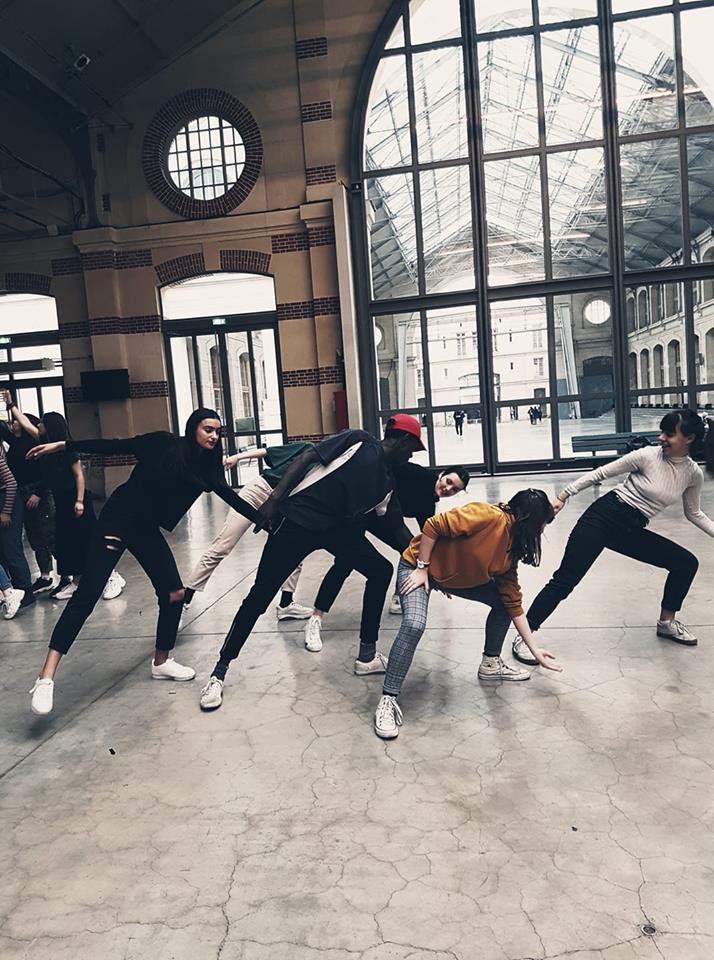 Atelier de pratique au 104 à Paris