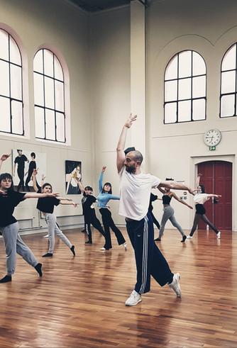 Un artiste au lycée : Simon Feltz, Esprit Ballet
