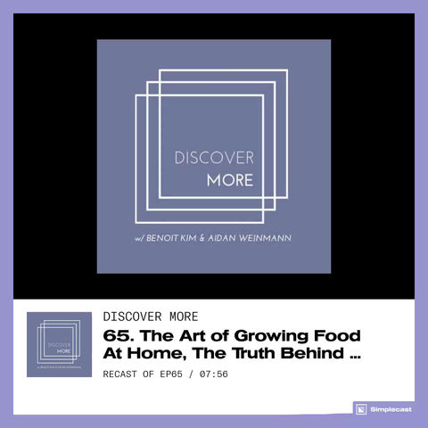 My Interview on the Discover More Podcast
