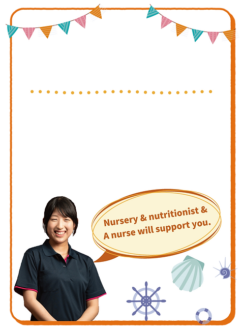 Support for nursery schools in Sasebo