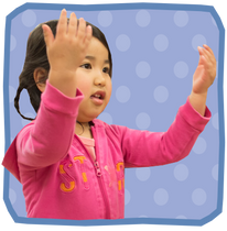 Expressions of nursery school children in Sasebo