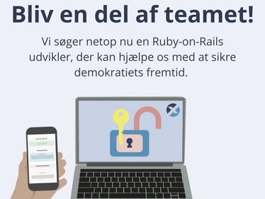Ruby on Rails-udvikler: Rejsen starter nu - og det er ikke en afbudsrejse!