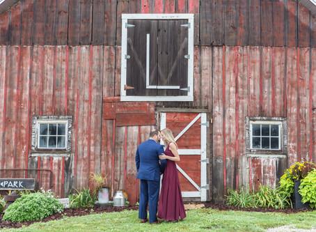 Amanda and Ian's Engagement Session   Lincoln Farmstead, Hoffman Estates   Emma Belen Photography
