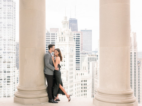 Londonhouse Proposal, Chicago | Erin & Casey |  Proposal Photographer Emma Belen Photography