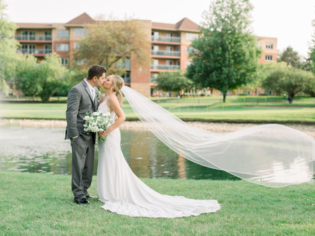 Nicole & Daniel's Wedding Day | Old Orchard Country Club, Mt. Prospect | Emma Belen Photography