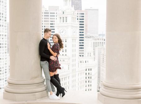 Alexis & Tanner | LondonHouse Proposal | Emma Belen Photography