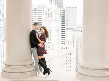 Alexis & Tanner | LondonHouse Proposal | Emma Belen Photography
