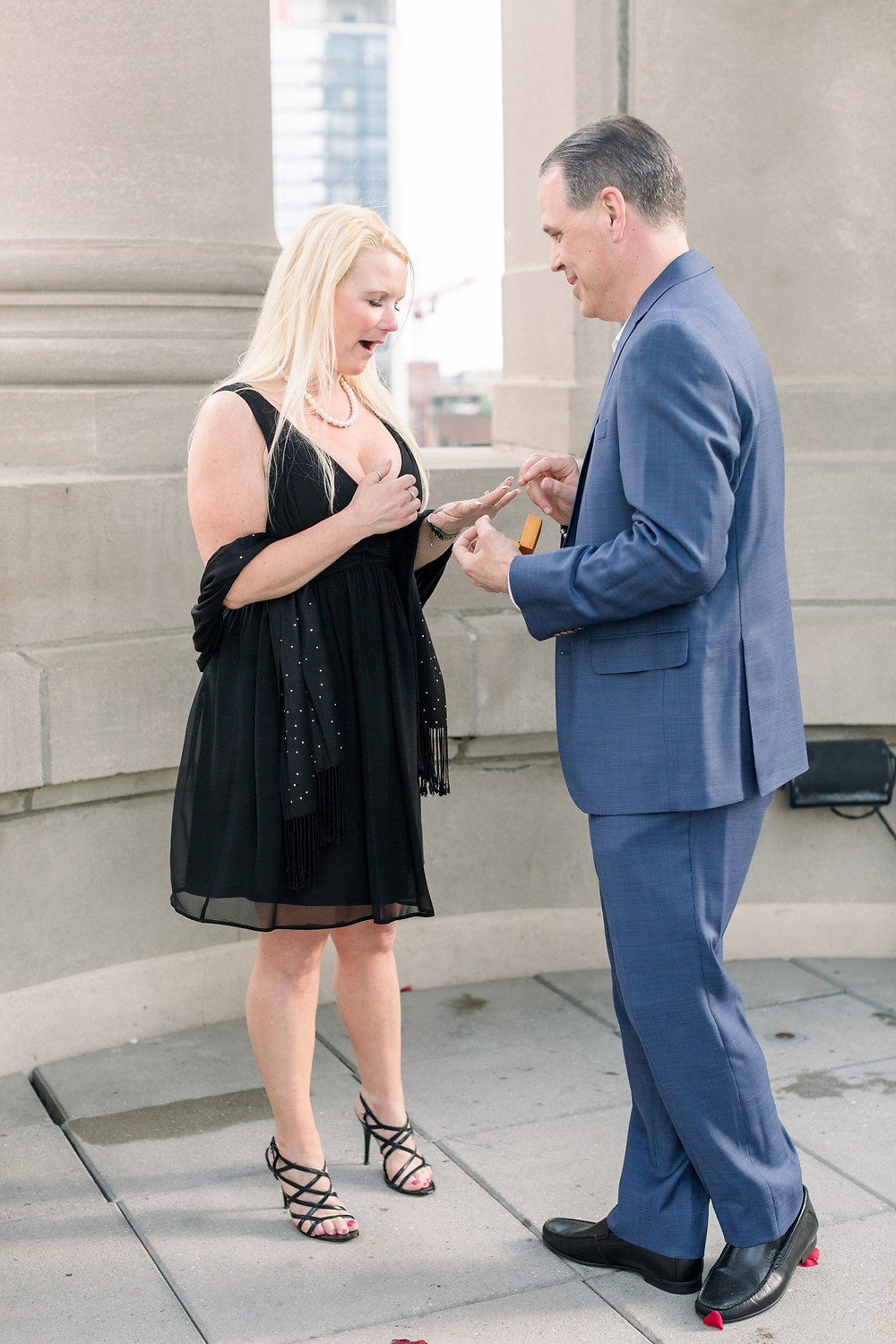 Proposal at the Londonhouse, chicago