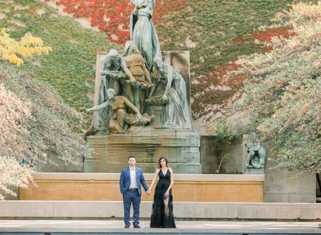 Jaqueline & Salvador | Engagement Session | Art Institute's Gardens