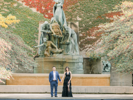 Jaqueline & Salvador | Engagement Session | Art Institute's Gardens
