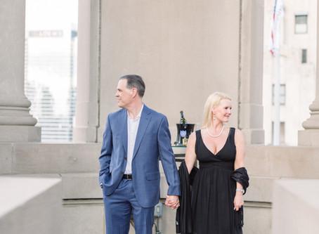 Proposal on The LondonHouse, Chicago - Congratulations Kim & Chris