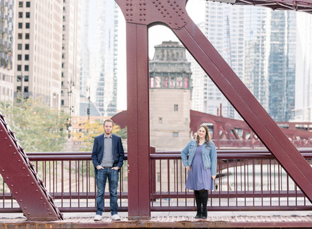 Shayna & Hunter. | Engagement Session | Downtown Chicago | Emma Belen Photography