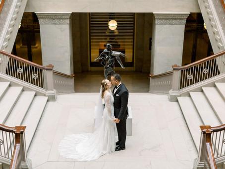 Alyssa & Mekael's Micro Wedding | Celeste, Chicago, IL. | Emma Belen Photography