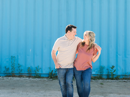 Stephanie and Robert's Engagement Session | Montrose Beach, Chicago | Emma Belen Photography