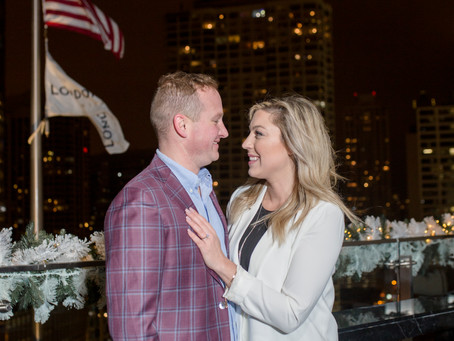 Emma Belen Photography - Engagement Proposal at The LondonHouse, Chicago