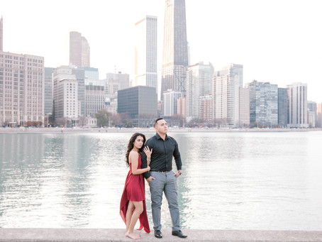 Engagement Session, Chicago - Emma Belen Photography - Alma & Jay