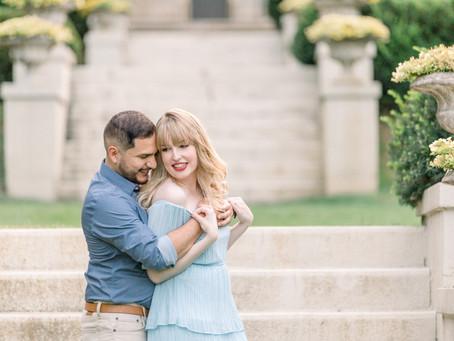 Melanie & Jose | Engagement Session | Cantigny Park | Emma Belen Photography