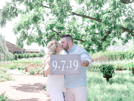 Hollie & Brian's Engagement Session \ Cantigny Park \ Emma Belen Photography