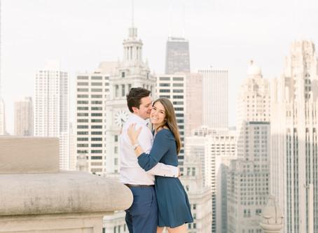 Jade & Jacob    | Proposal, LondonHouse, Chicago | Emma Belen Photography
