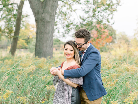 Monica & Martin | Engagement Session | Lincoln Park, Chicago, Il. | EmmaBelen Photography