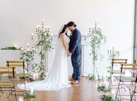Daisy & Adam |Wedding Day | The Loft of Elements Preserved. Elgin, IL.  | Emma Belen Photography