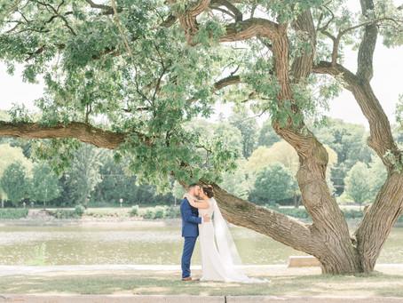 Liza & Kyle's Wedding Day | Brix  on the Fox, Carpentersville, Illinois | Emma Belen Photography