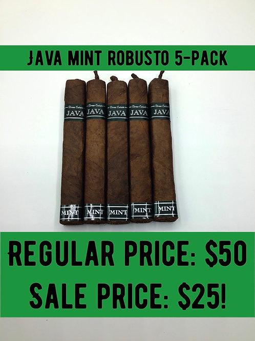Java Mint Robusto 5-pack