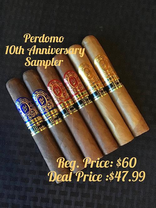Perdomo 10th Anniversary Sampler