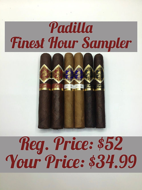Padilla Finest Hour Sampler
