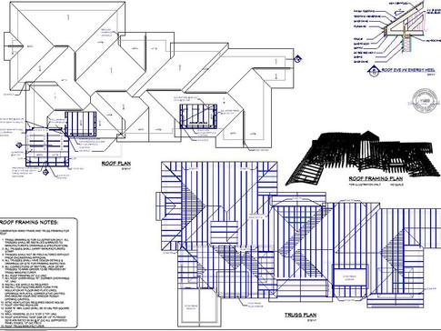 roof plan/framing
