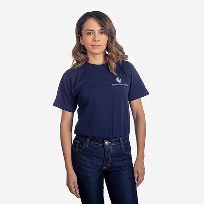 Camiseta cuello redondo manga corta