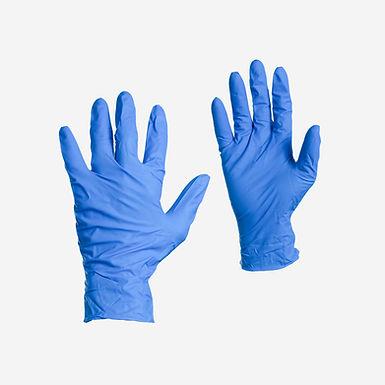 Guante Nitrilo Azul Caja x 100 Unidades