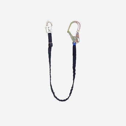 Eslinga de posicionamiento sencilla en cuerda poliéster