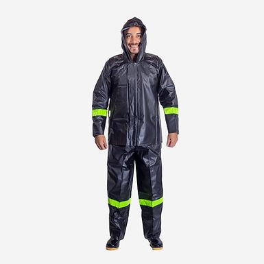 Impermeable en PVC Conjunto chaqueta Pantalón