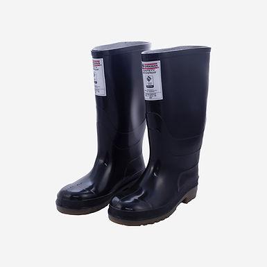 Botas PVC Seguridad Negra Safety waterproof marca Croydon