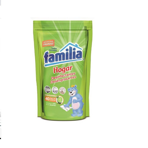 Pañitos húmedos desinfectantes. Paquete x 3 Unidades